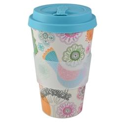 Εικόνα της ESTIA Βamboo cup Early Bird με Καπάκι Σιλικόνης 435ml